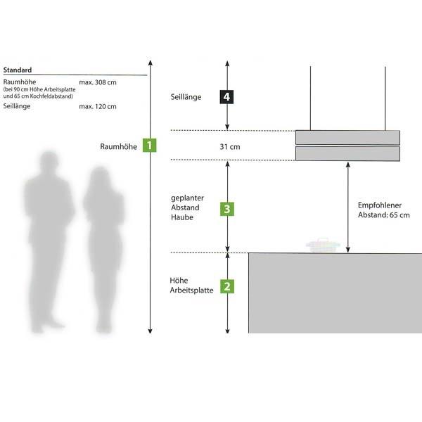 Berbel Skyline Seilverlängerung 41-120cm